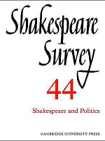 Shakespeare-Survey-Shakespeare-and-Politics