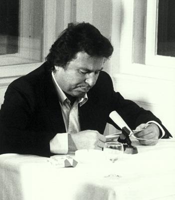 Austrian Poet Wolfgang Bauer