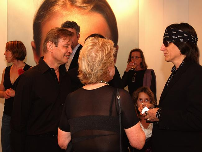 Michael York and Gottfried Helnwein