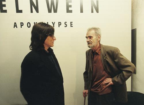 "H.C. Artmann at the ""Apokalypse"" Exhibition"