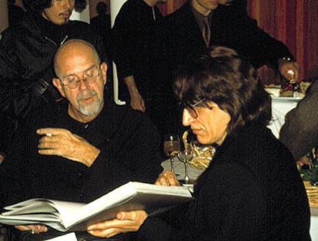 Chuck Close and Gottfried Helnwein