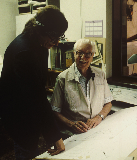 Helnwein and Carl Barks