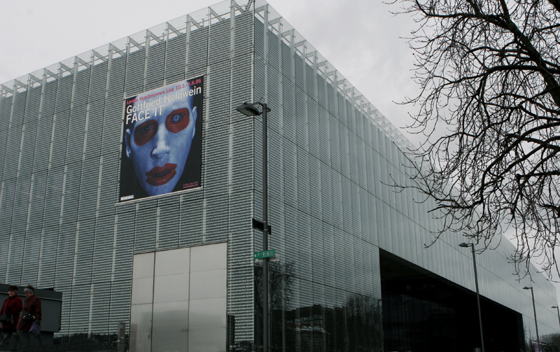 Face it, Gottfried Helnwein solo show, Lentos Museum of Modern Art, Linz