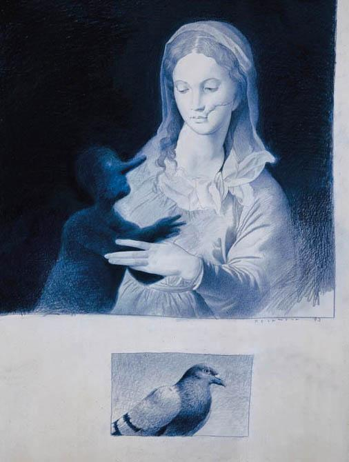 Untitled (after Bronzino)