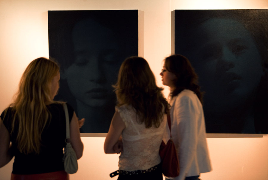 "Opening of the Helnwein exhibition ""Angels Sleeping"""