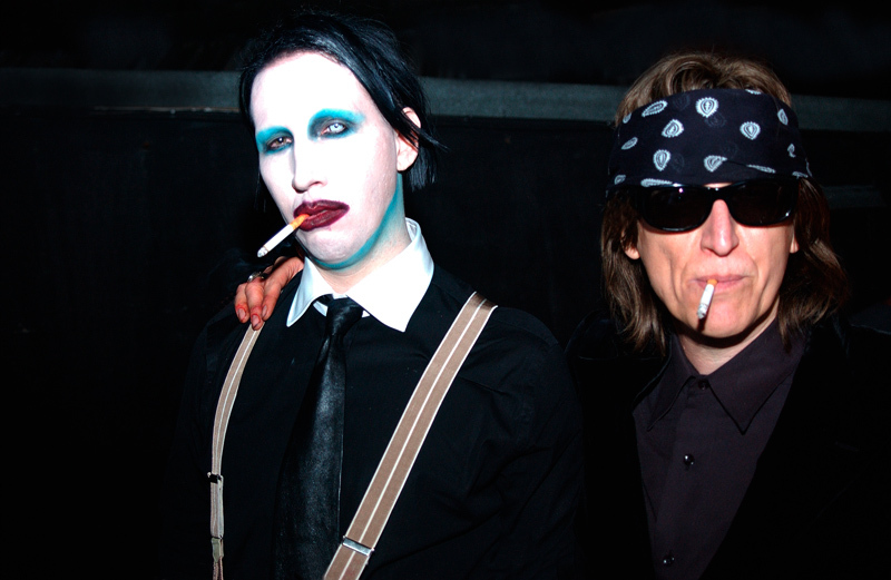 Marilyn Manson and Helnwein in London