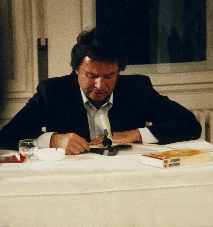 """Wolfgang Bauer liest: """"Song for Helnwein"""""""