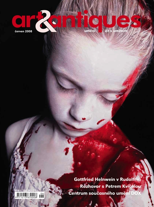 Gottfried Helnwein, art & antiques, coverstory