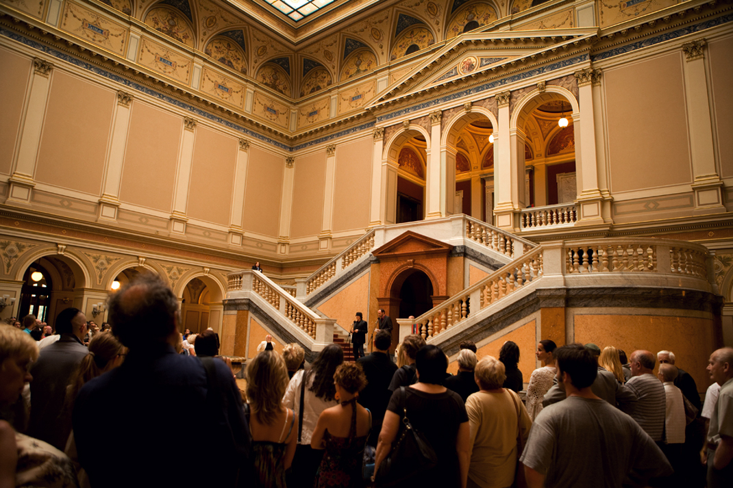 Opening of the Helnwein-Exhibition at Galerie Rudolfinum in Prague