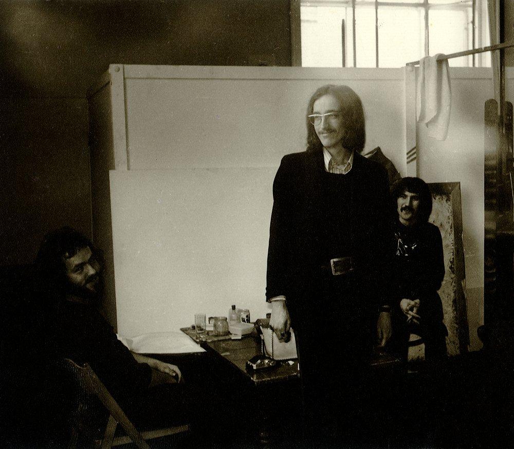 Manfed Deix, Gottfried Helnwein und Josef Bramer