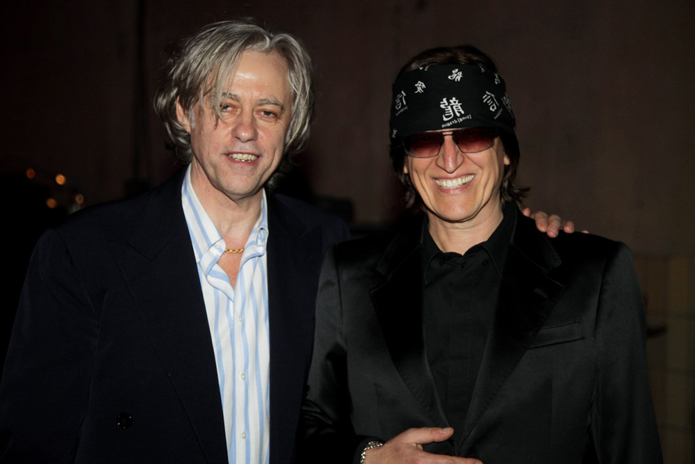 Sir Bob Geldof and Gottfried Helnwein