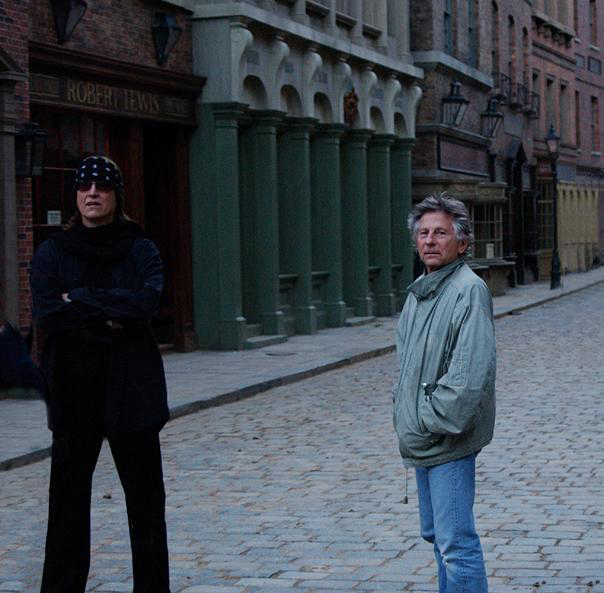 Gottfried Helnwein and Roman Polanski