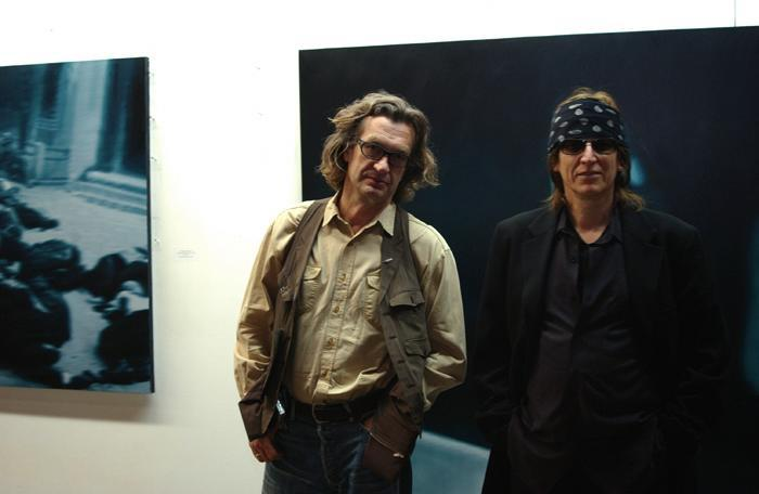 Wim Wenders and Gottfried Helnwein