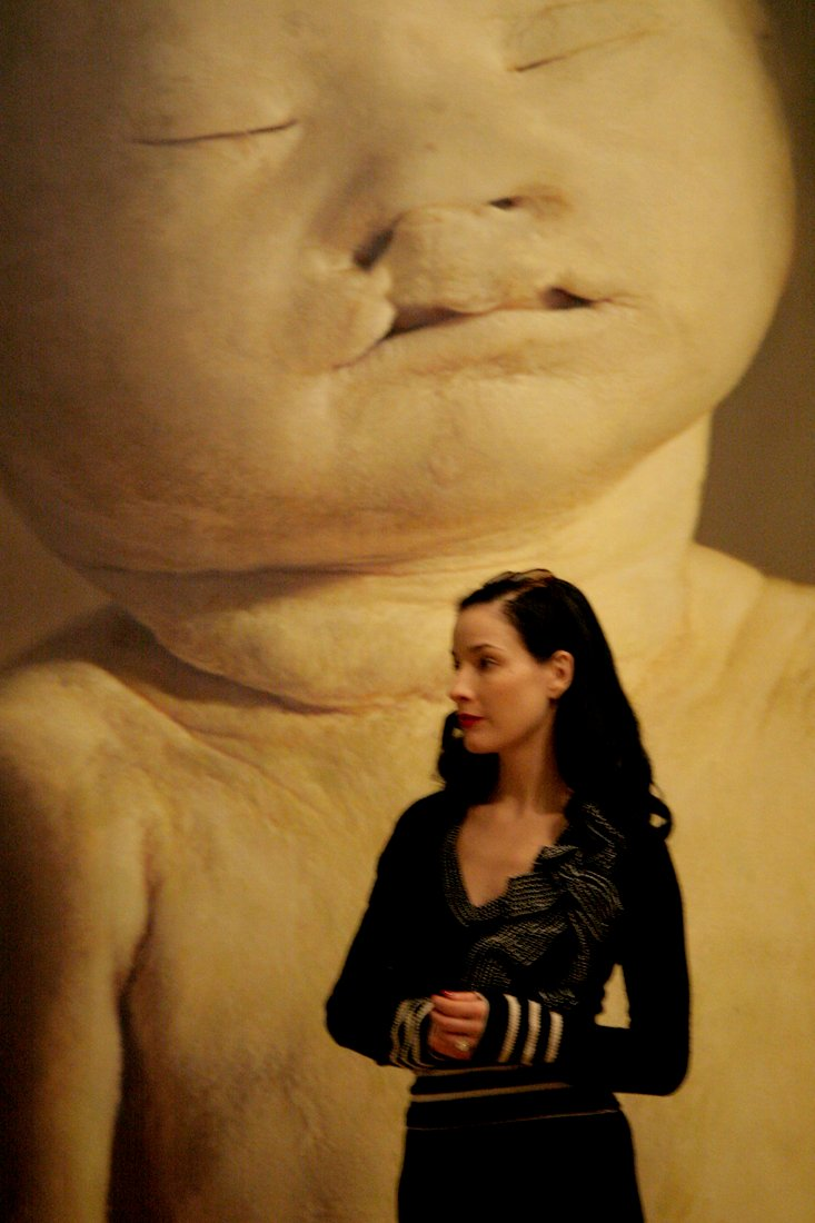 "Dita von Teese at the ""Child""-exhibition at The Legion of Honor"