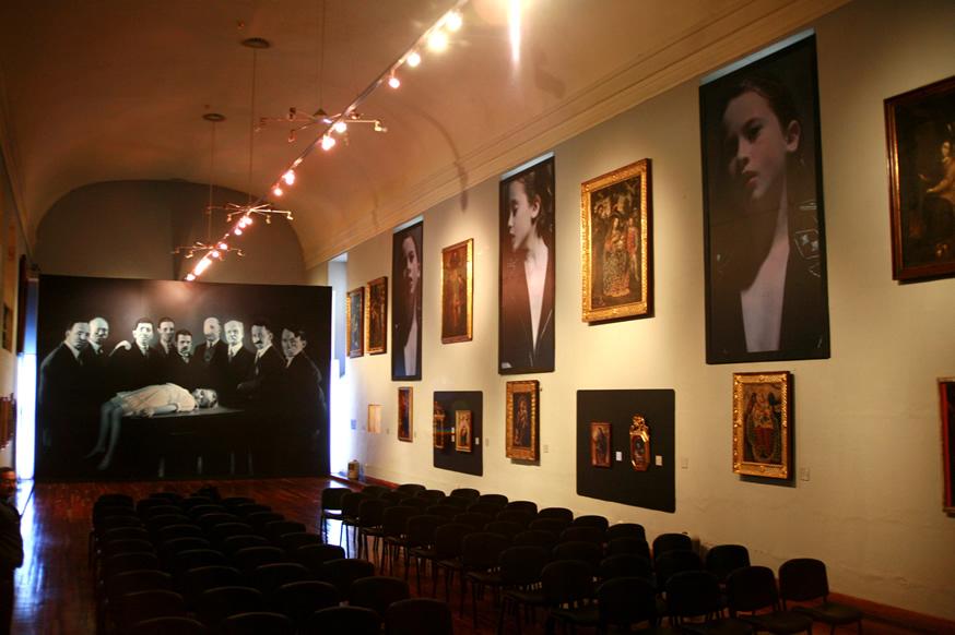 Installation Museo de Arte Colonial, Bogota