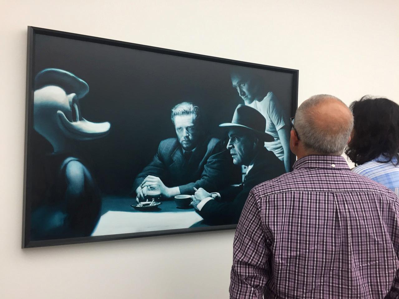 """Kunstmuseum Stuttgart, """"Über den Umgang mit Menschen, wenn Zuneigung im Spiel ist"""", Sammlung Klein."""