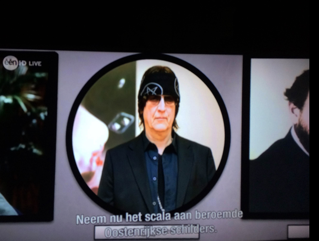 Eurovision Song Contest 2015,  Austria's most important painters: Schiele, Klimt, Kokoschka, Hundertwasser, Helnwein
