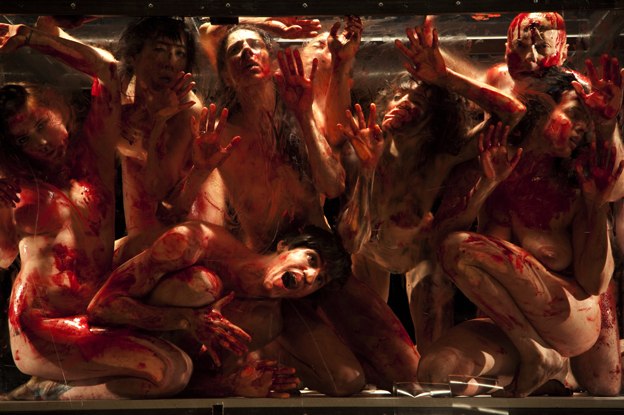 'The 120 Days of Sodom, based on de Sade and Pasolini, Johann Kresnik und Gottfried Helnwein, Volksbühne, Berlin