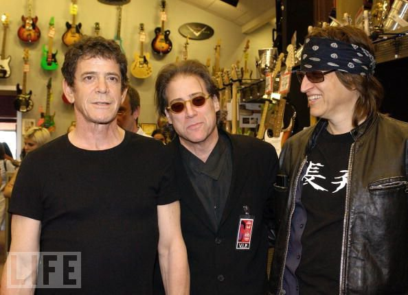 Lou Reed, Richard Lewis, Gottfried Helnwein