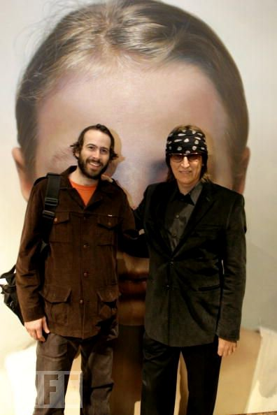 Jason Lee and Gottfried Helnwein
