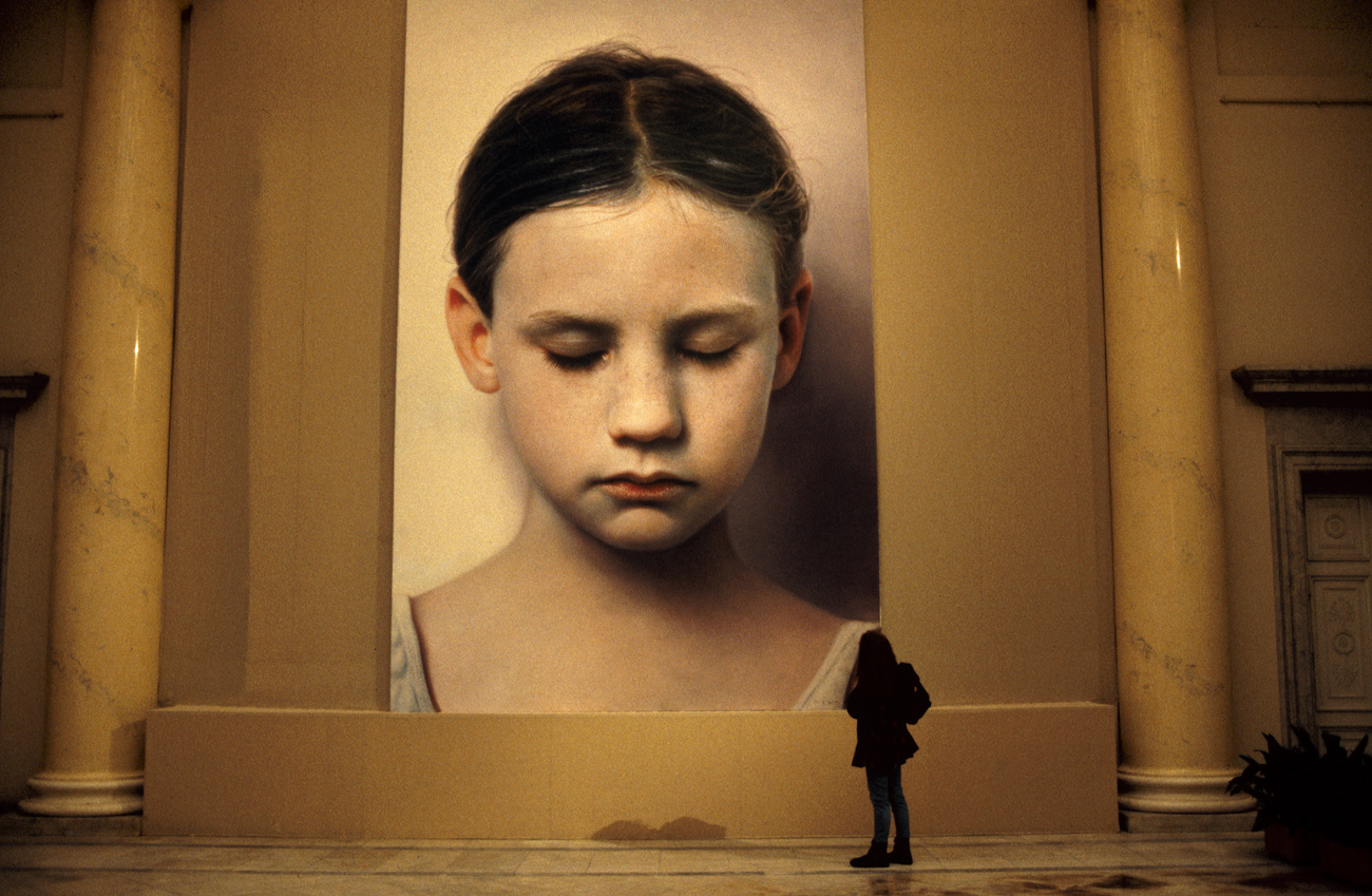 Helnwein Retrospective at the State Russian Museum St. Petersburg