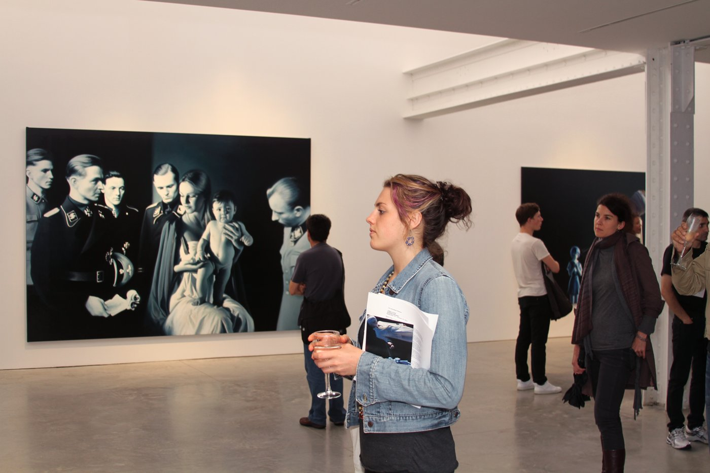 "Gottfried Helnwein: Opening of the exhibition ""I was a Child"" at Friedman Benda Gallery New York"