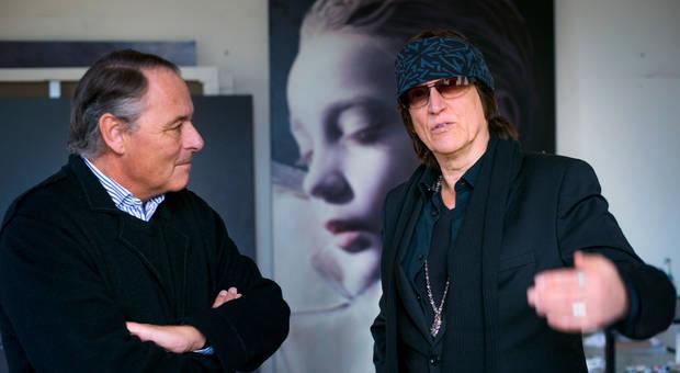 """Gero von Boehm spricht mit Gottfried Helnwein, """"Close Up"""", Servus-Tv"""