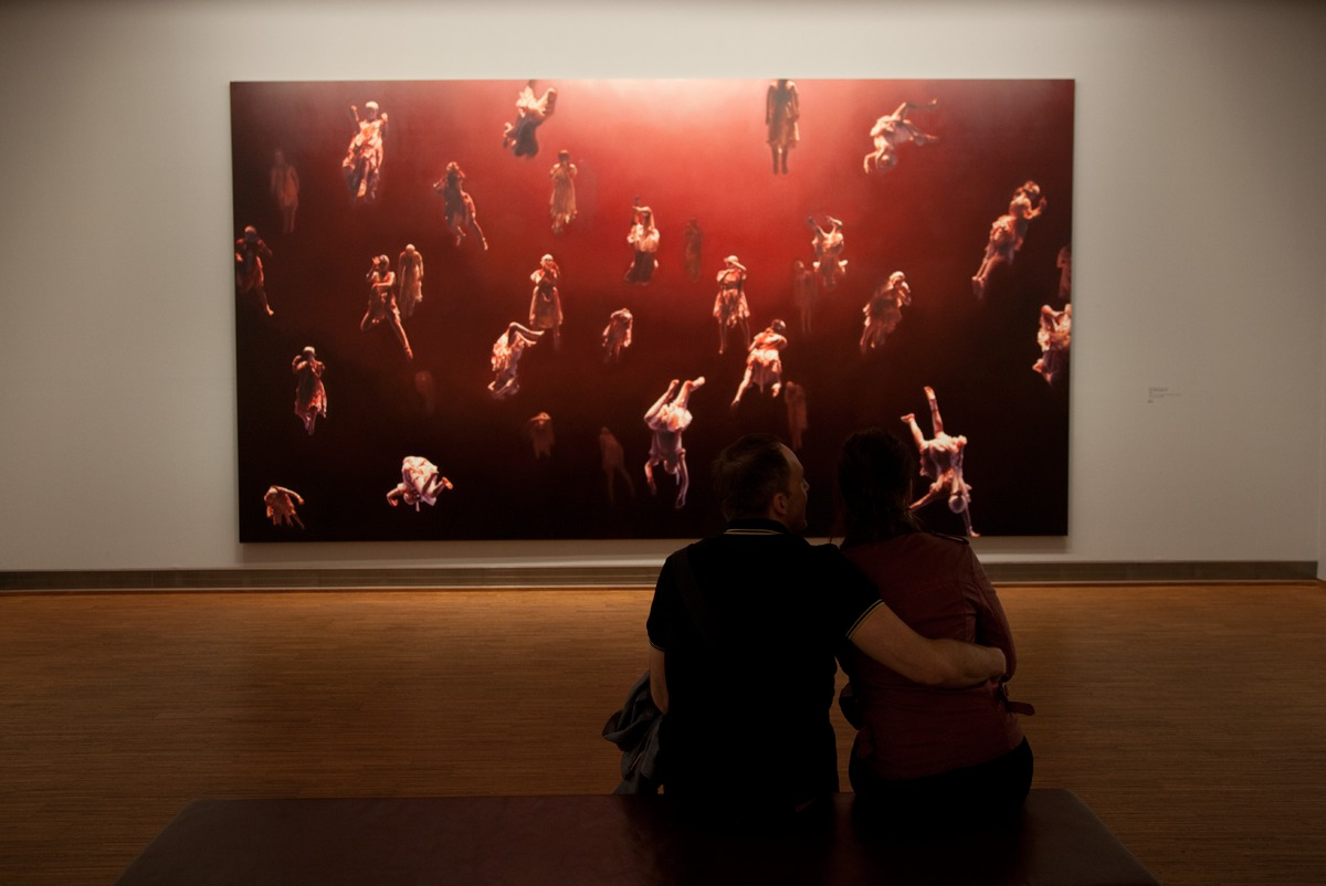Helnwein-Retrospective at the Albertina Museum Wien
