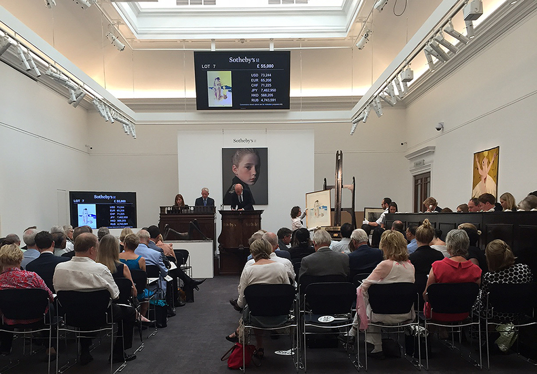Sotheby's London Auction, September