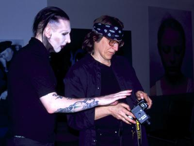 Manson and Helnwein,
