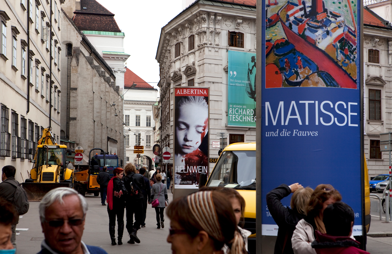Helnwein Retrospective at the Albertina museum, Vienna