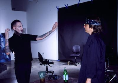 Manson and Helnwein