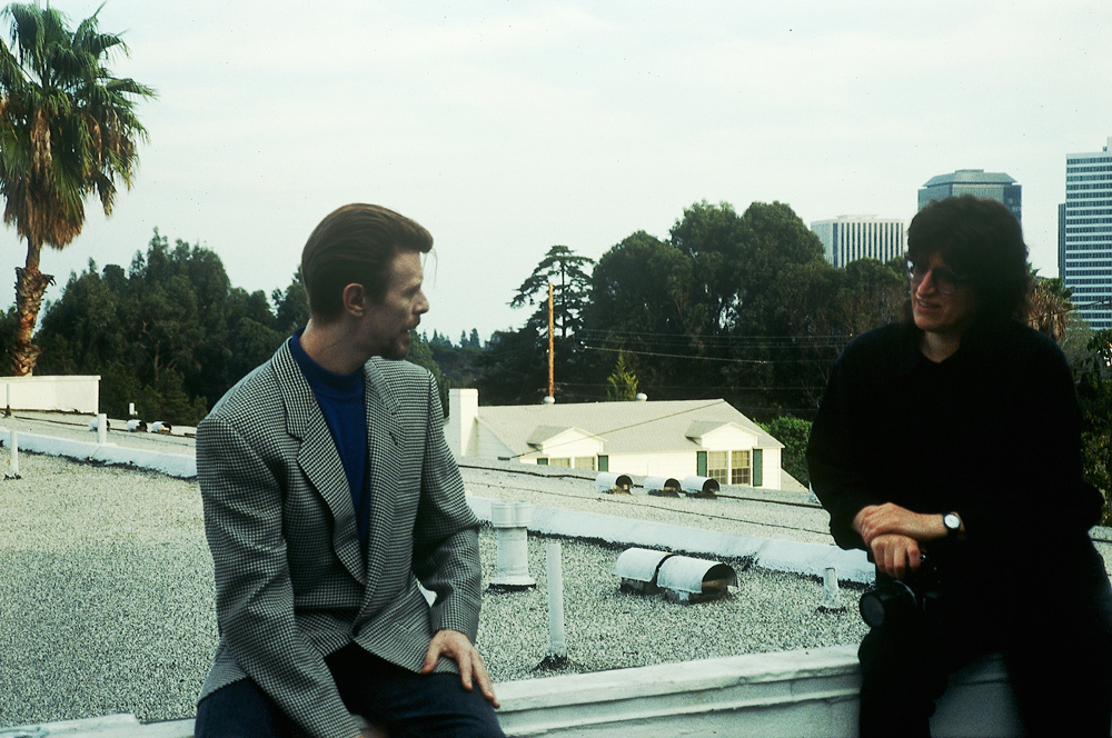 David Bowie, and Gottfried Helnwein, Los Angeles
