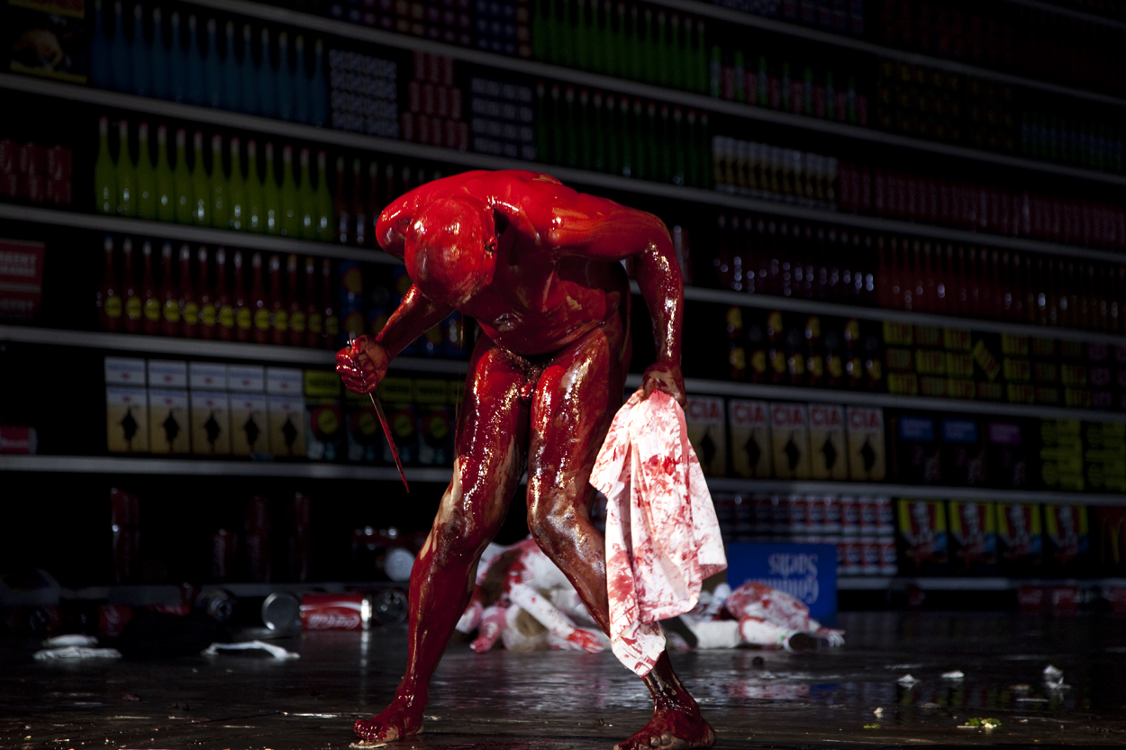 'The 120 Days of Sodom, based on de Sade and Pasolini, Ismael Ivo, Volkstheater, Berlin