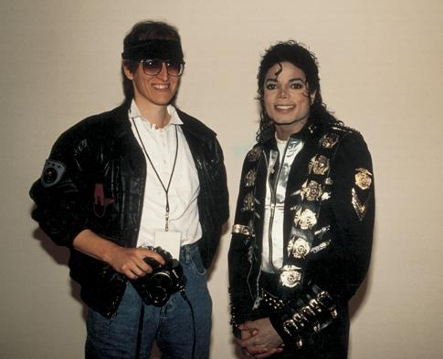 Gottfried Helnwein and Michael Jackson