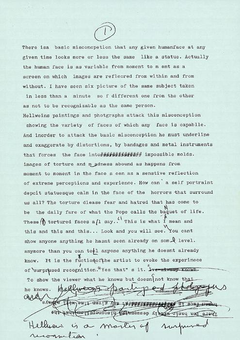 Essay about Helnwein